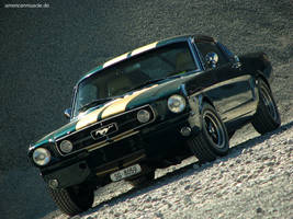 ford mustang gt fastback by AmericanMuscle