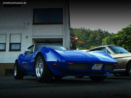 blue - corvette by AmericanMuscle