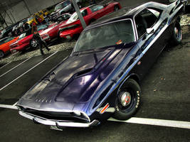 plum crazy 70 chally by AmericanMuscle