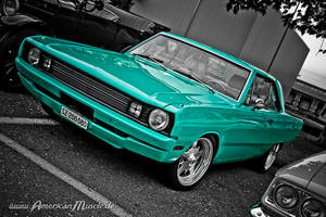 Mint Dodge-Dart by AmericanMuscle
