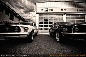 two 69 mustangs by AmericanMuscle