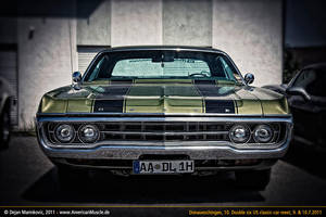 green Dodge Fullsize Car by AmericanMuscle