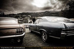 ford and chevrolet by AmericanMuscle