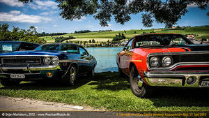 two mopar muscles by AmericanMuscle