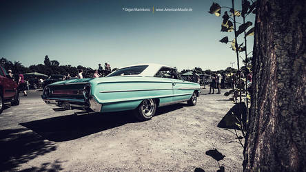 turquoise Ford Galaxie by AmericanMuscle