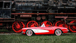 Red Corvette C1 by AmericanMuscle