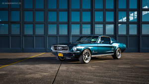 Blue 1967 Ford Mustang Fastback by AmericanMuscle