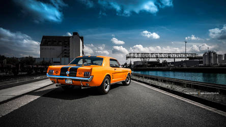 Orange 66 Coupe by AmericanMuscle