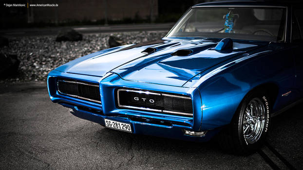Blue 68 GTO by AmericanMuscle
