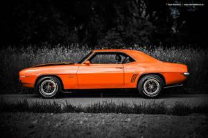 Orange Camaro by AmericanMuscle