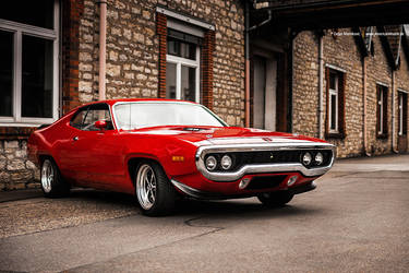 Red Road Runner by AmericanMuscle