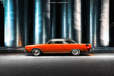Dodge Dart Side by AmericanMuscle