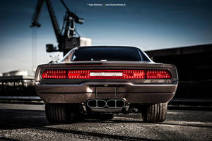 Charger GTS-R Rear by AmericanMuscle