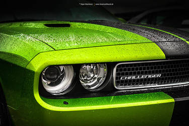 Green Dodge Challenger SRT by AmericanMuscle