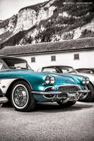 Turquoise Corvette C1 by AmericanMuscle
