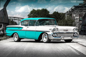 1958 Chevrolet Bel Air - Shot 3 by AmericanMuscle