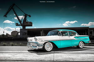 1958 Chevrolet Bel Air - Shot 5 by AmericanMuscle