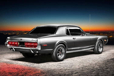 grey 1968 Mercury Cougar by AmericanMuscle