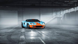 GULF Ford GT by AmericanMuscle