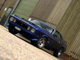 blue '73 by AmericanMuscle