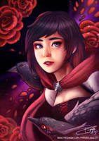 Ruby Rose by Papercloudzy