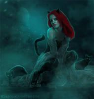 Catwoman by ebtihalien