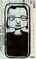 printed on a train ticket by uht