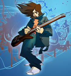 Guitar man by Bogus35