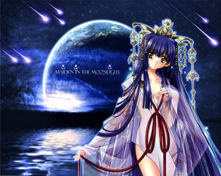 .:Maiden in the Moonlight:. by cowlord