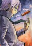 Gokudera: Saku's Bday Gift by DaniDL
