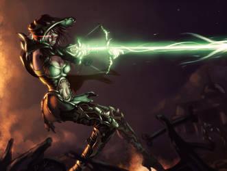 Demon Hunter: Diablo III Entry by DaniDL