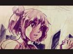 Kaname Madoka Sketchuu by DaniDL