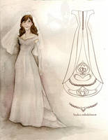 Janelle's wedding gown by lasmith