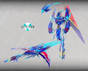 VEHICON JETSTORM by cheetor182