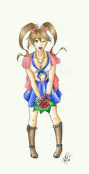 Spring Girl by Meellowstar