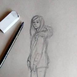Take a walk sketch by Meellowstar