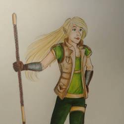 Elf by Meellowstar