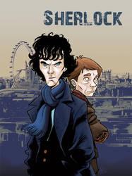 Sherlock colored by gianmac