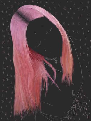 Sleeping pink queen by Ainaraas