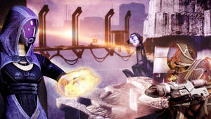 Mass Effect 2 Tali - Haestrom by AnArtbelle