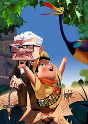 Look Mr Fredricksen by manukongolo