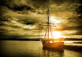 Sail Away by JonasHodneHaugen