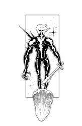 The Dark Figure by FoxyTomcat