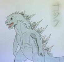 Godzilla 2014 by TheForbiddenTenet