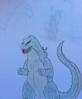 Godzilla- Kingoji design by TheForbiddenTenet
