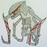 Godzilla 2014- MUTO by TheForbiddenTenet