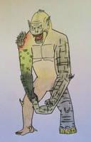 The Frankenstein Monster- Pretorian by TheForbiddenTenet