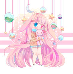 [CM] Shy bunny by Clerii