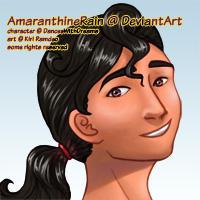 Third Prize: Ana by AmaranthineRain