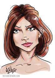 Fashion Portrait #10 by sketchartbymarc
